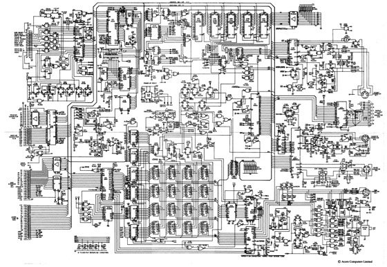 Acorn's BBC Micro schematics