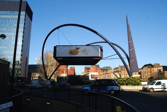 Old Street Roundabout, credit Wikimedia