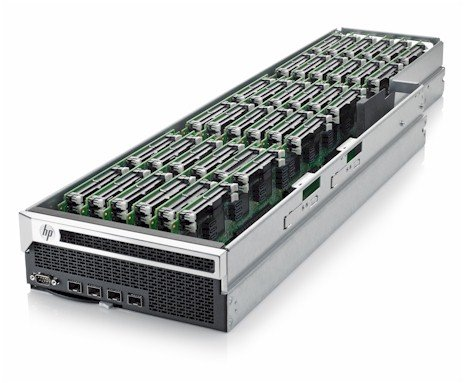 HP Redstone server tray
