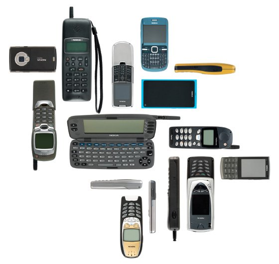 Nokia products that change