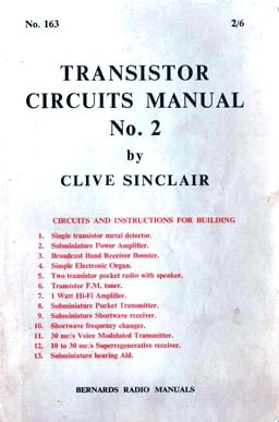 Clive Sinclair's early work
