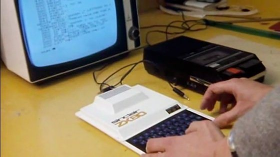 Science of Cambridge ZX80 computer