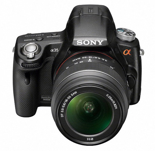 Sony Alpha SLT-A35 translucent mirror camera
