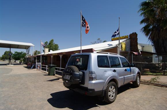 The pub in Kulgera