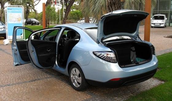 Renault Fluence ZE e-car