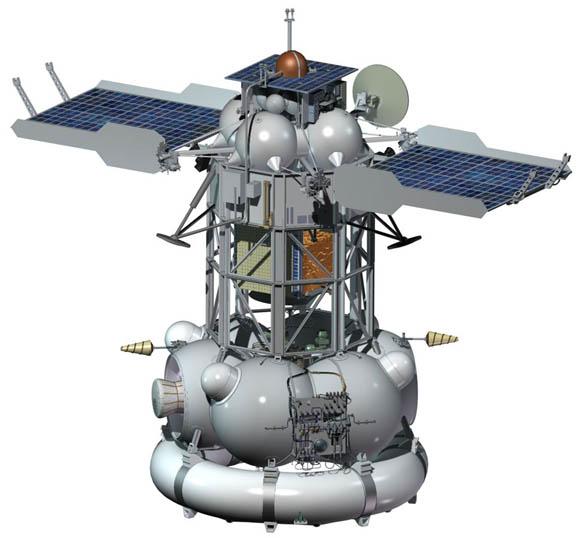 Russia's Phobos-Grunt Mars-exploring spacecraft