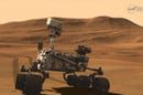 Mars Science Laboratory - Curiosity rover on Mars
