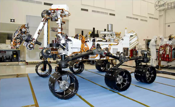 Mars Science Laboratory - Curiosity rover