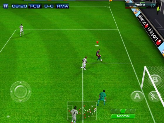 Real Football 2011 iOS app screenshot