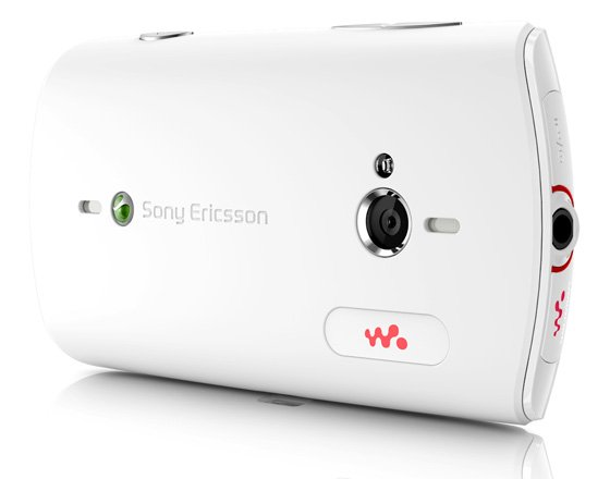Sony Ericsson Live with Walkman Android smartphone