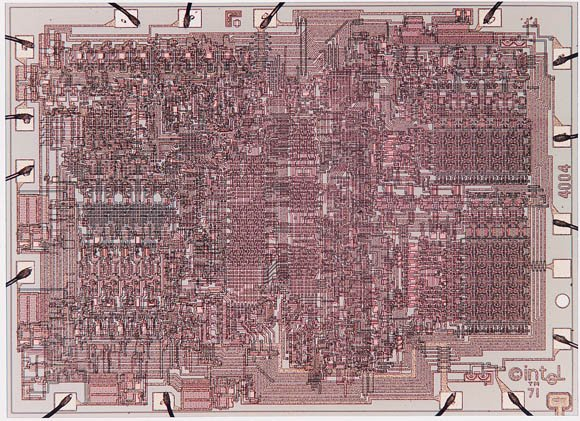 Intel 4004 die