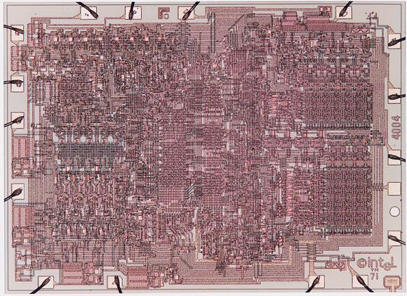 Intel 4004 die