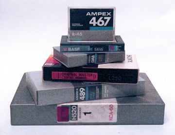 U-matic, ADAT, PCM-F1 Betamax, Hi8 DTRS, DCC and DAT