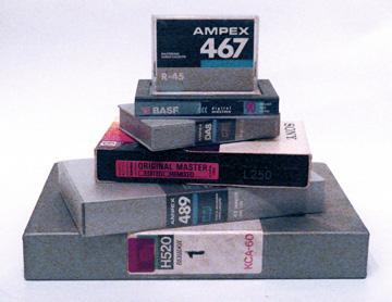 U-matic, ADAT, PCM-F1 Betamax, Hi8 DTRS, DCC and DAT