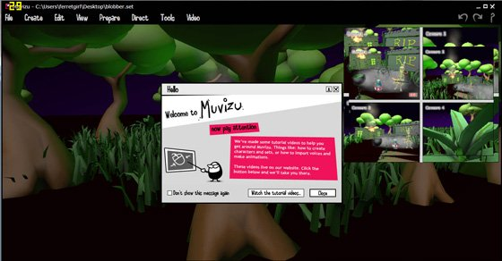 Digimania Muvizu animation suite