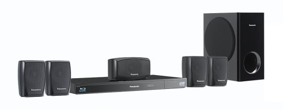 Panasonic SC-BTT270 5.1 Blu-ray home theatre