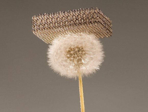 World's lightest material Credit: Dan Little for HRL Laboratories