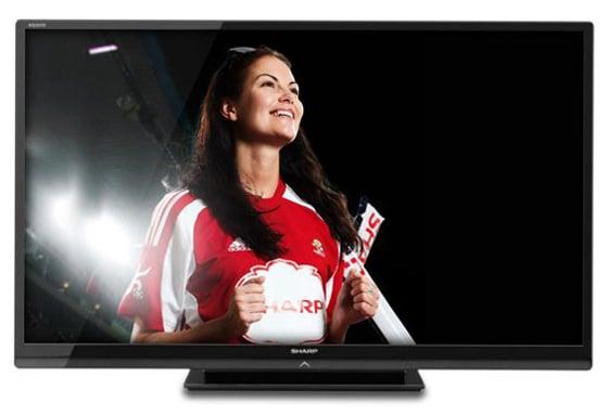 Sharp Aquos LC-60LE636E big screen television