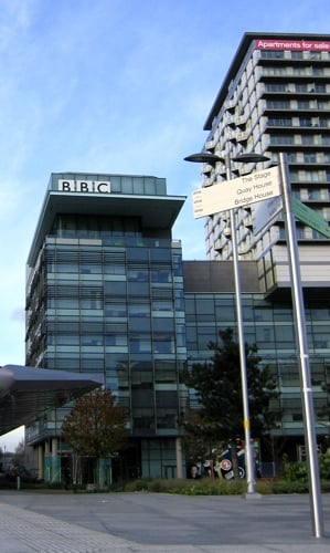 BBC in Media City UK, Salford