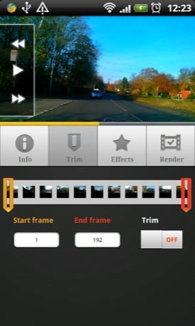 Lapse It Pro Android app screenshot