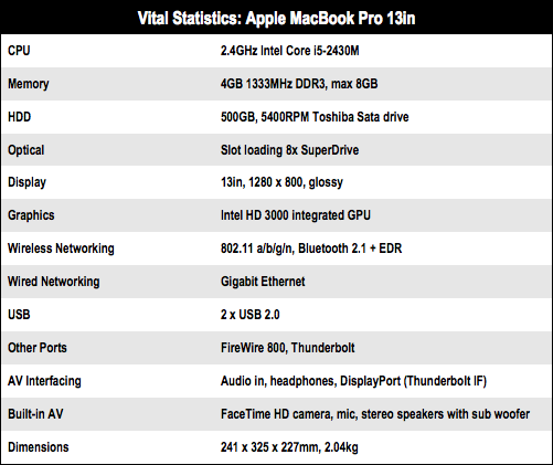 Apple MacBook Pro 13in C