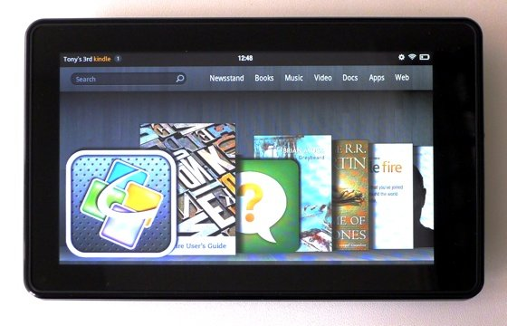 Amazon Kindle Fire Android tablet