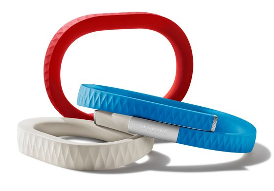 Jawbone Up motion-sensing wristband