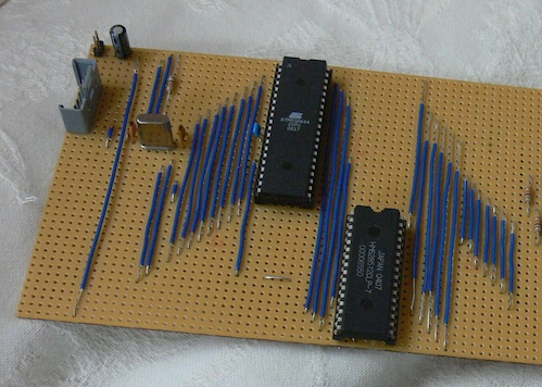 RaspberryPi Atmel prototype