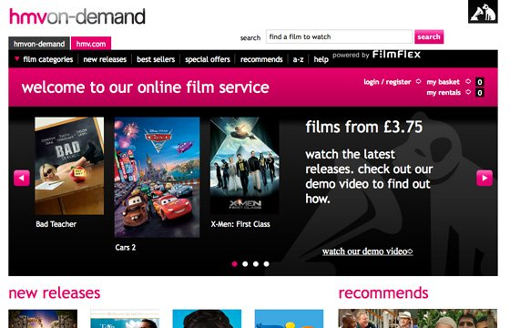 HMV On-Demand