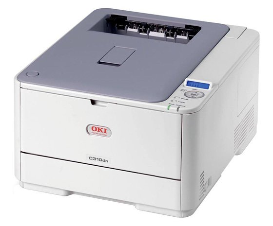 OKI C310dn colour laser printer