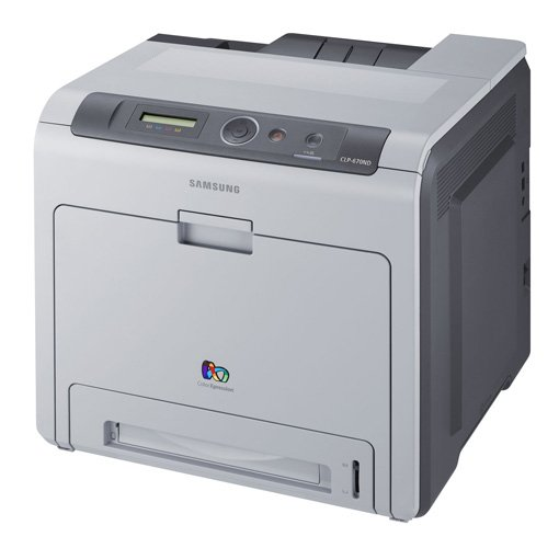 Samsung CLP-670ND colour laser printer