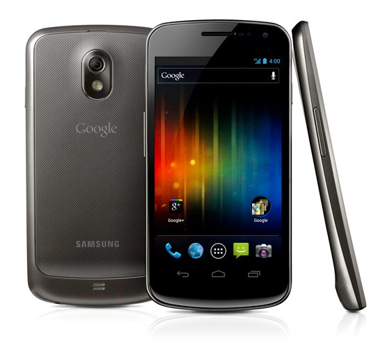 Samsung Galaxy Nexus Android smartphone