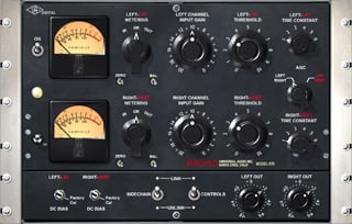 Universal Audio Fairchild 670 compressor plug-in