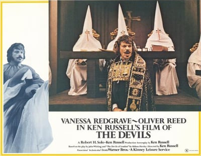 Film poster for The Devils