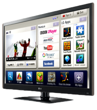 Smart TVs - LG 42LV550