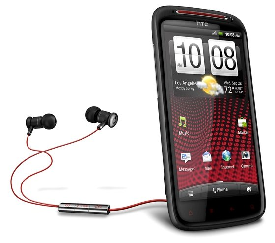 HTC Sensation XE Android smartphone