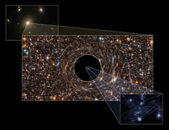 Record-breaking supermassive black hole