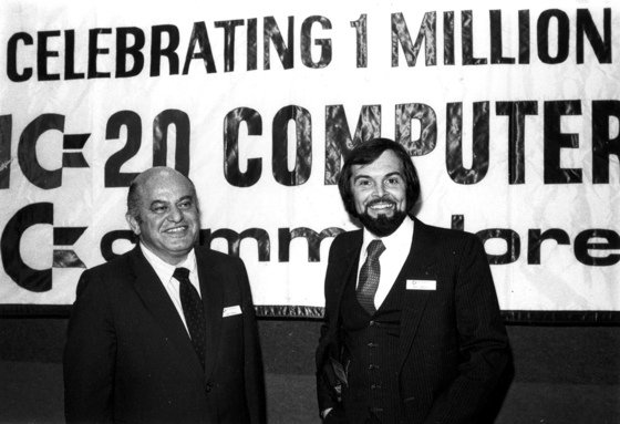Commodore CEO Jack Tramiel