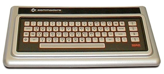 Commodore Max games console