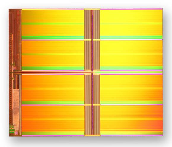Intel and Micron's 20nm, 128Gb NAND chip