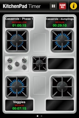 KitchenPad iOS app screenshot