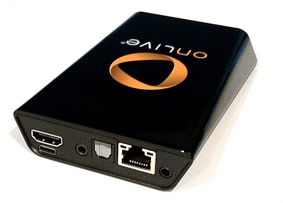 OnLive cloud gaming system microconsole