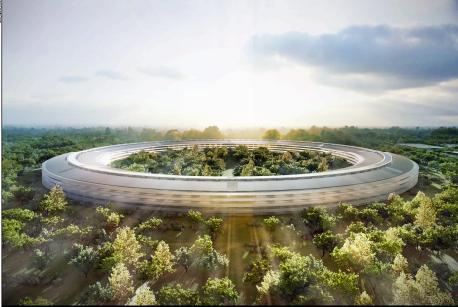 Apple HQ 1, credit Cupertino Council