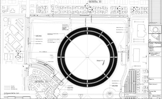 Apple HQ 3, credit Cupertino Council