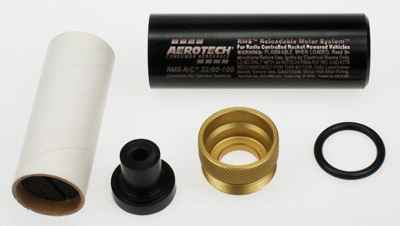 The AeroTech rocket motor components