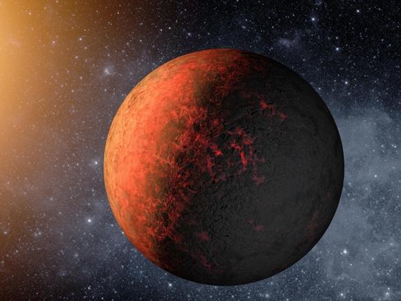Artist's concept of Kepler 20e