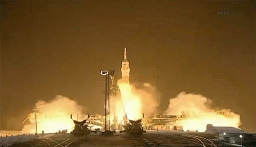 Soyuz TMA-03M lift off