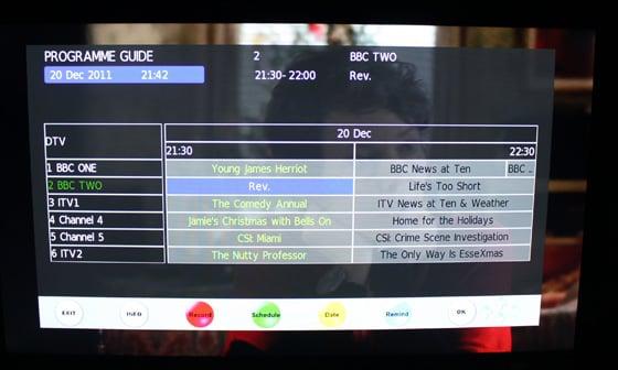 Logik LE423ED11 42in passive 3D TV