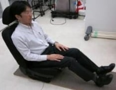 Biometric bottom chair