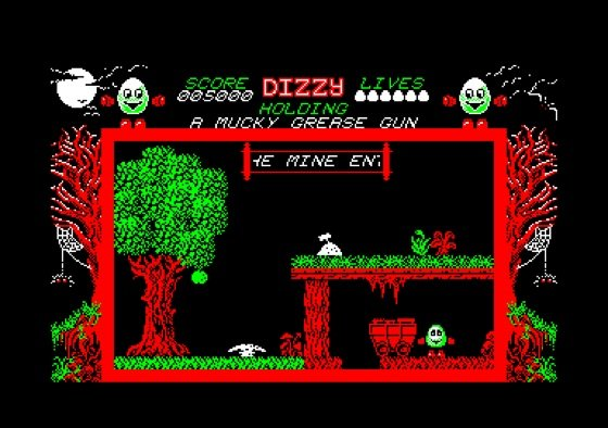Dizzy Amstrad CPC screenshot